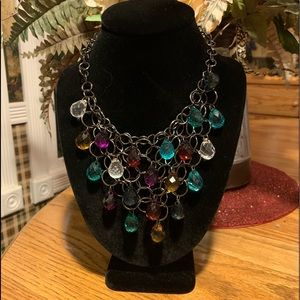 💥4/$10💥 Colorful Beaded Bib Statement  Necklace